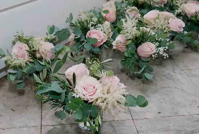 Hochzeitsfloristik Blumenschmuck fr Hochzeit in Wien