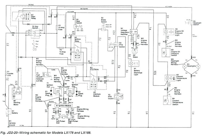 jd 410 engine wiring diagram  wiring diagram for surround