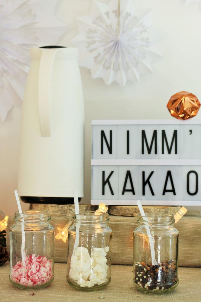 Kakao schn verschenken  Partystories Blog