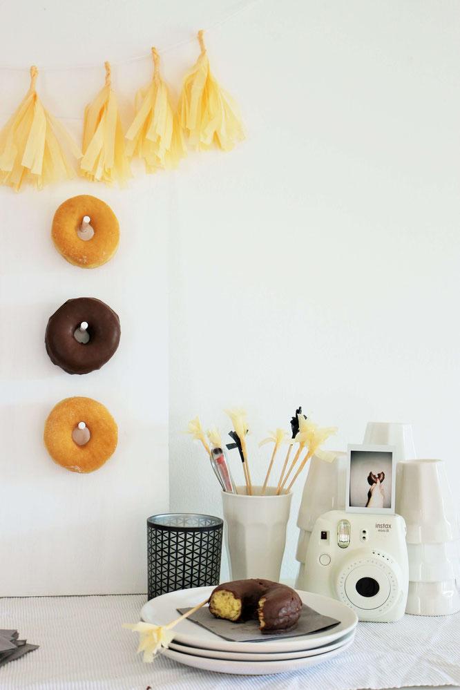 DIY Donut und Bagel Wall Mit dieser Anleitung einfach selber machen  Partystories Blog