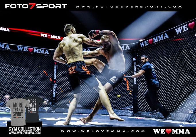We Love MMA  Barclaycard Arena  Hamburg 10102015