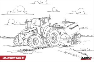 20 Elegant Ausmalbilder Traktor Mit Frontlader