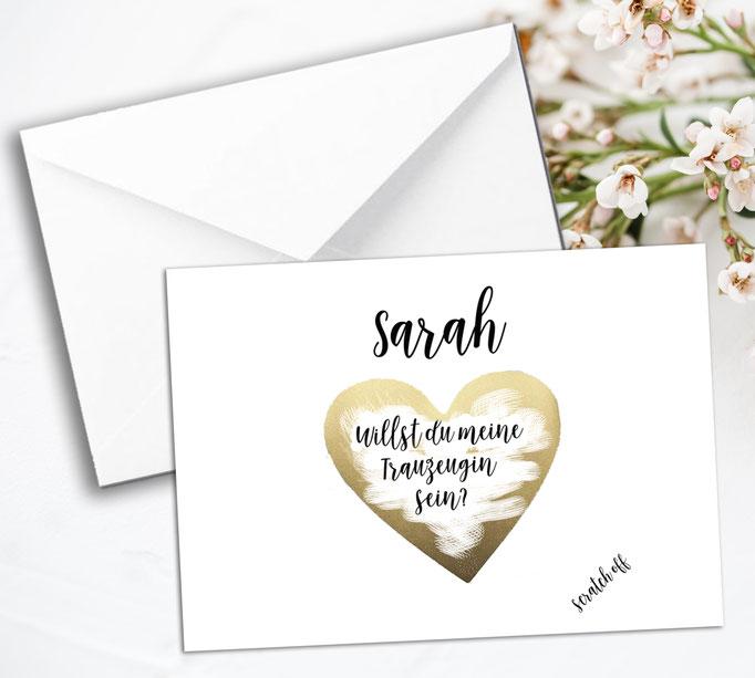 Geschenke fr die Trauzeugen Happy Wedding Art