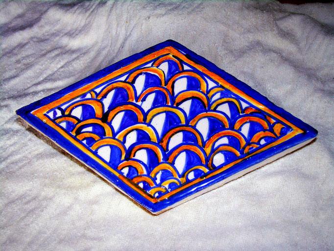 mattonelle antiche piastrelle hand painted tiles italian  ceramica artistica