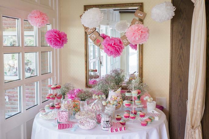 Candybar Hochzeit  Hochzeitsfotografie  Sandra Rhoden