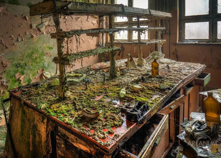 Pharmaceutical Company - arcanum urbex