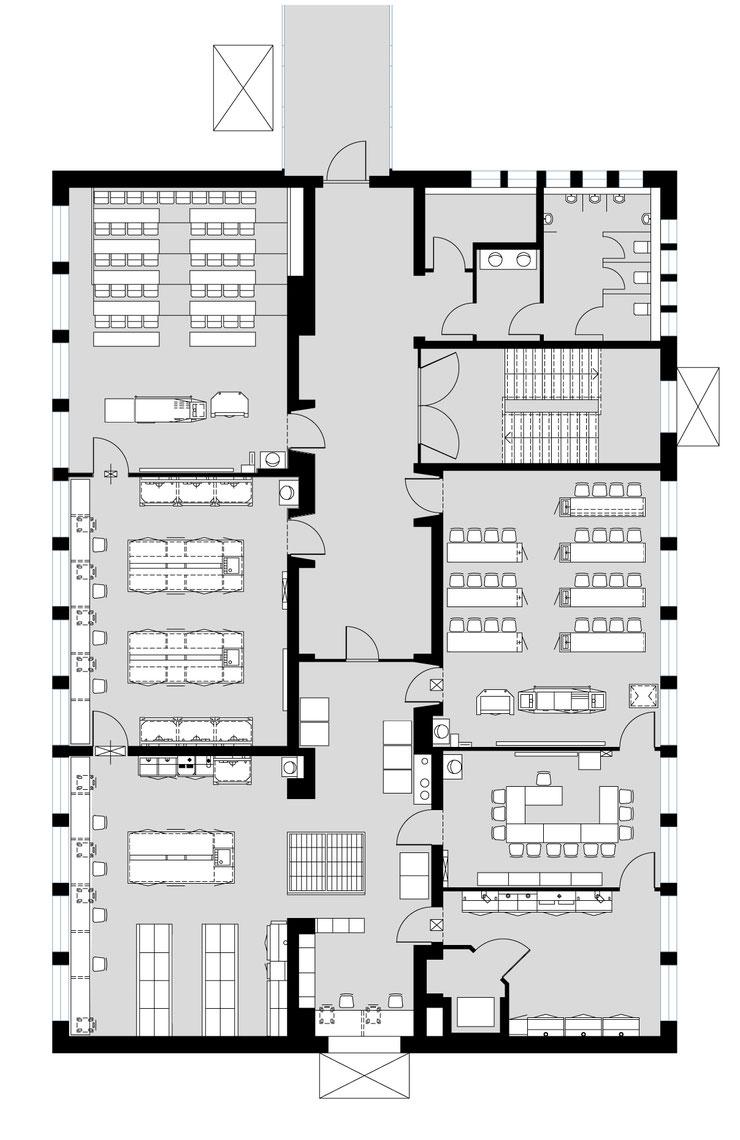Grundriss Immobilienmarketing  Grundriss KNX Service