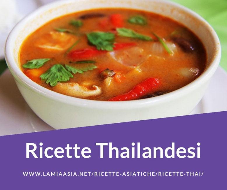RICETTE THAI  La Mia Asia