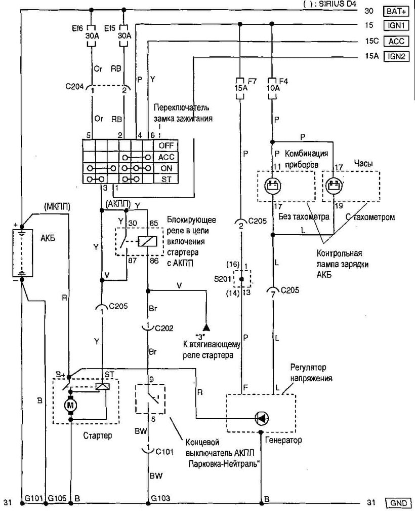 hight resolution of chevrolet aveo starting and charging system wiring diagram
