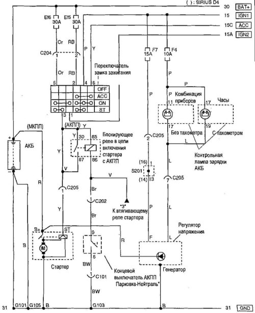 small resolution of chevrolet aveo starting and charging system wiring diagram