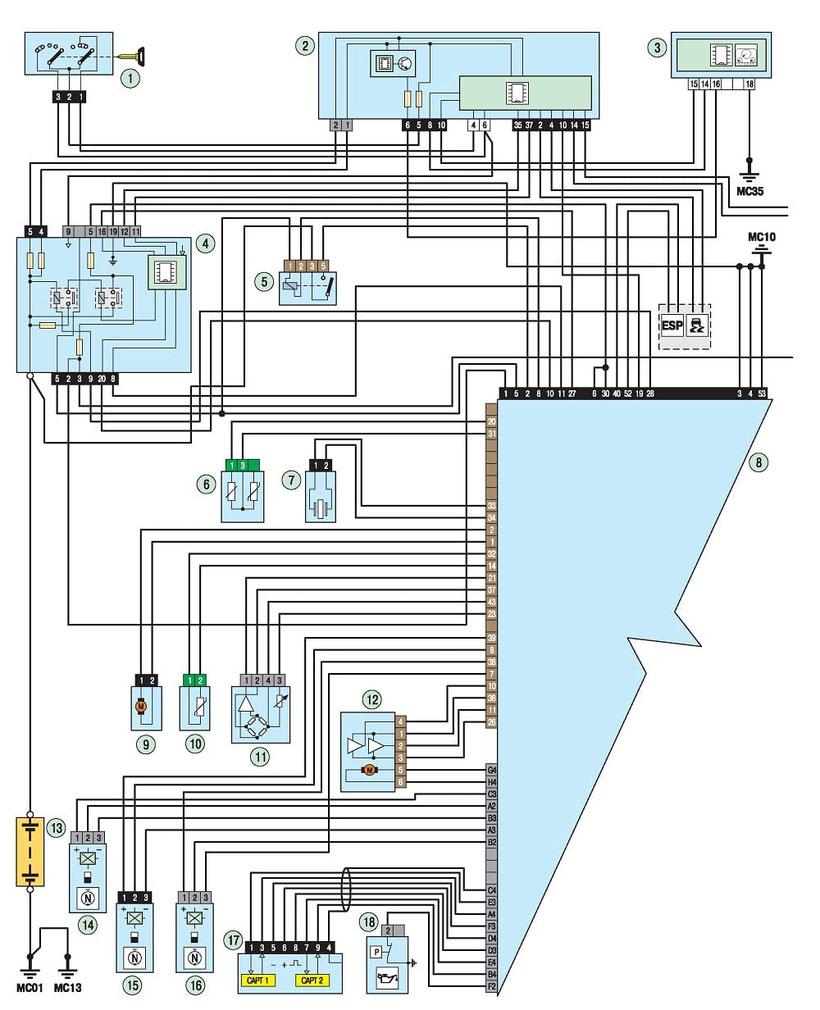medium resolution of 308 engine management system wiring diagram