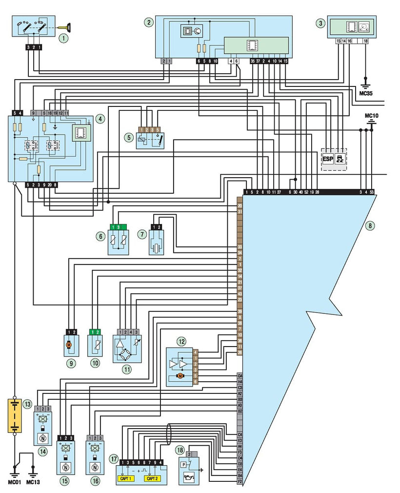 hight resolution of 308 engine management system wiring diagram