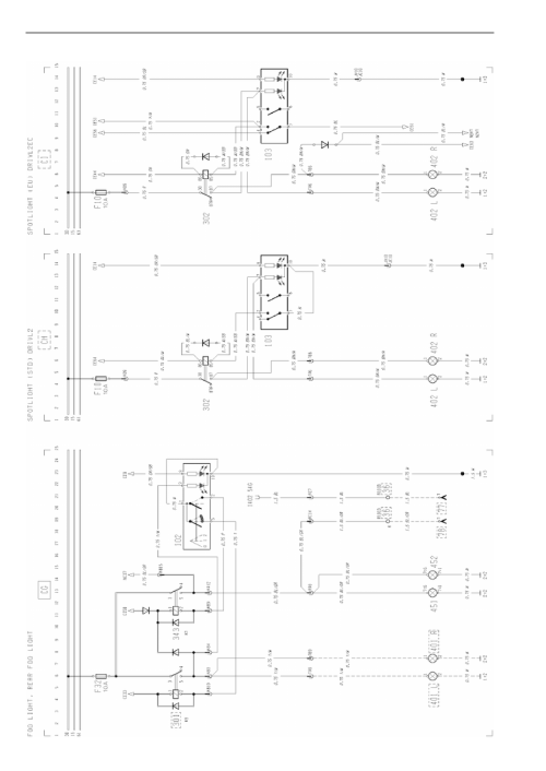 small resolution of fh fog light rear fog light scheme fh break light wiring diagram
