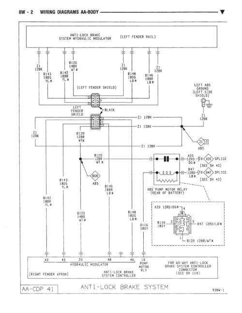 small resolution of dynasty anti brake system wiring diagram