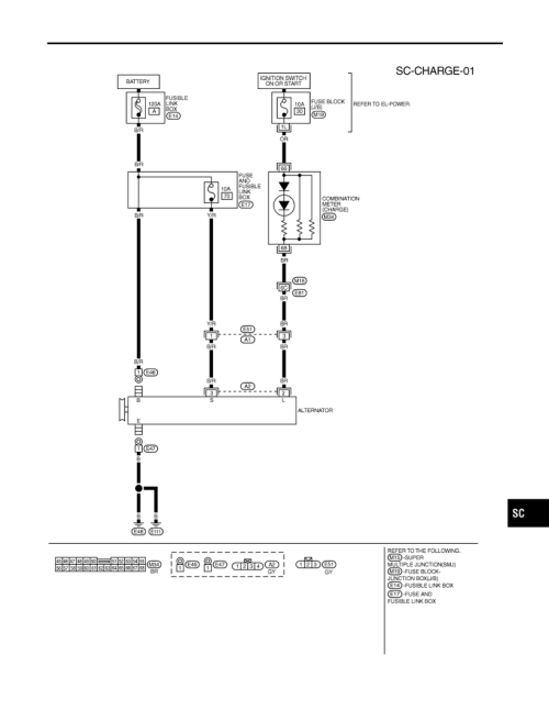 small resolution of i35 charging system wiring diagram