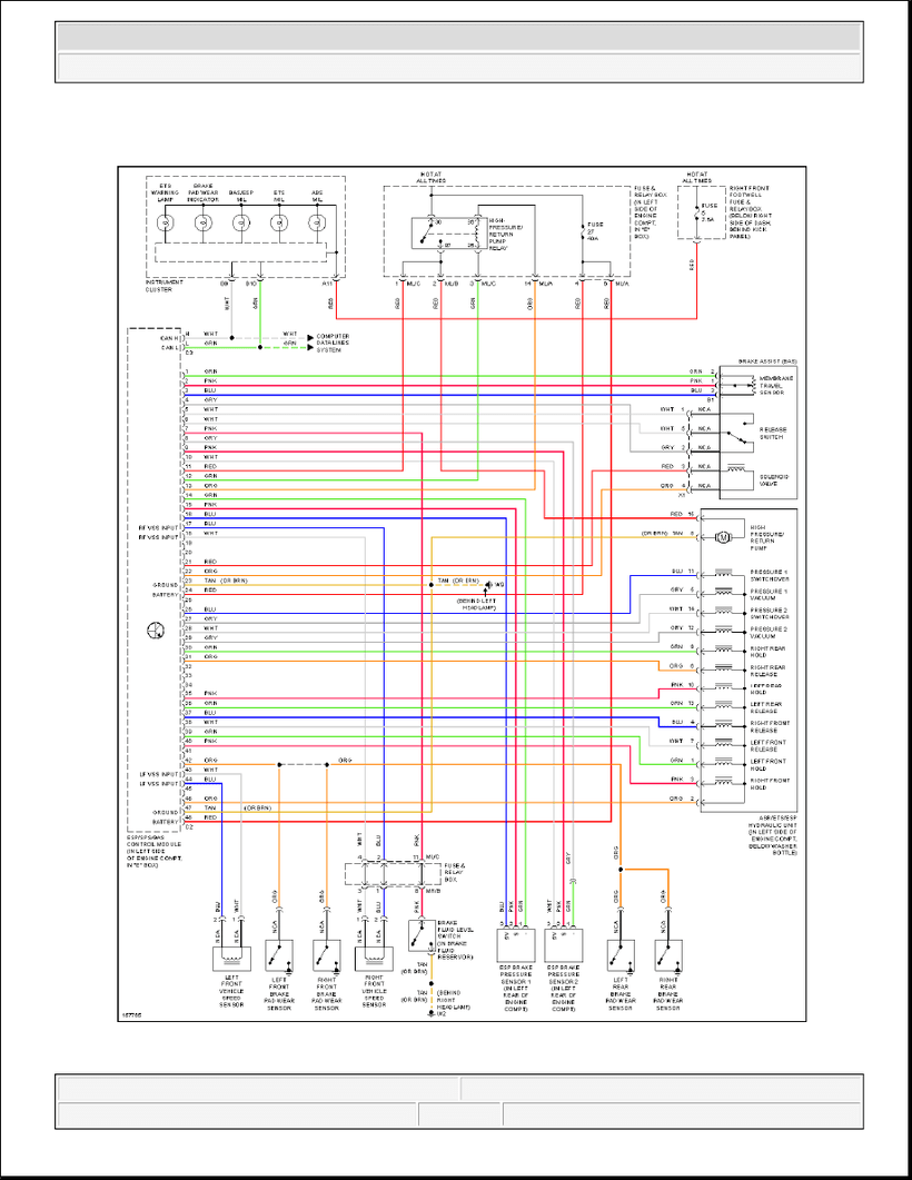 medium resolution of ml320 w163 anti lock brakes circuit diagram