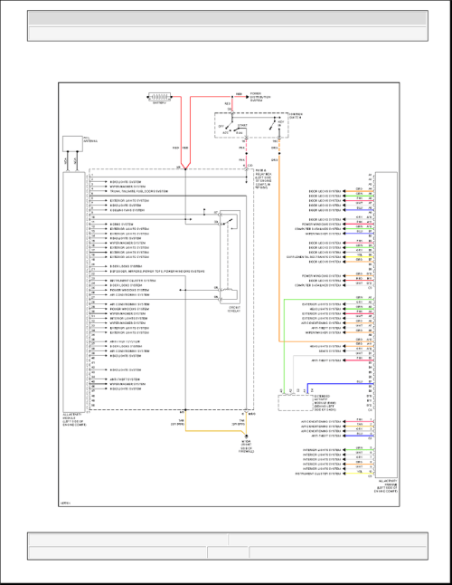 small resolution of ml320 w163 all activity module circuit diagram