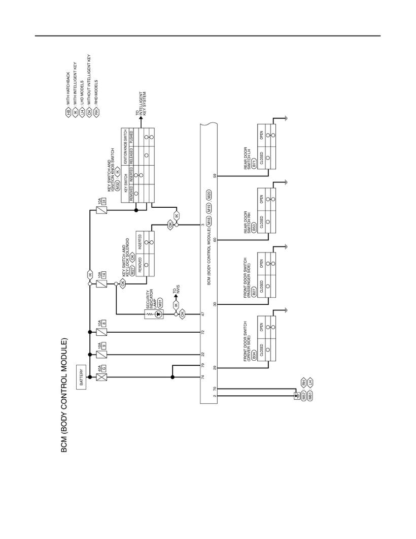 medium resolution of tiida bcm wiring diagram