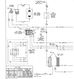 town country power window lift system circuit diagram [ 820 x 1061 Pixel ]