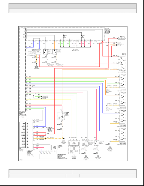 small resolution of ml320 w163 anti theft circuit w auxiliary alarm schematics