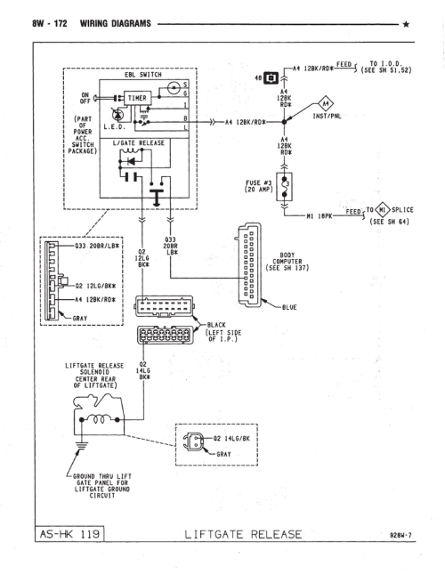 small resolution of  dodge caravan wiring diagrams car wiring schematics on lift master gate openers