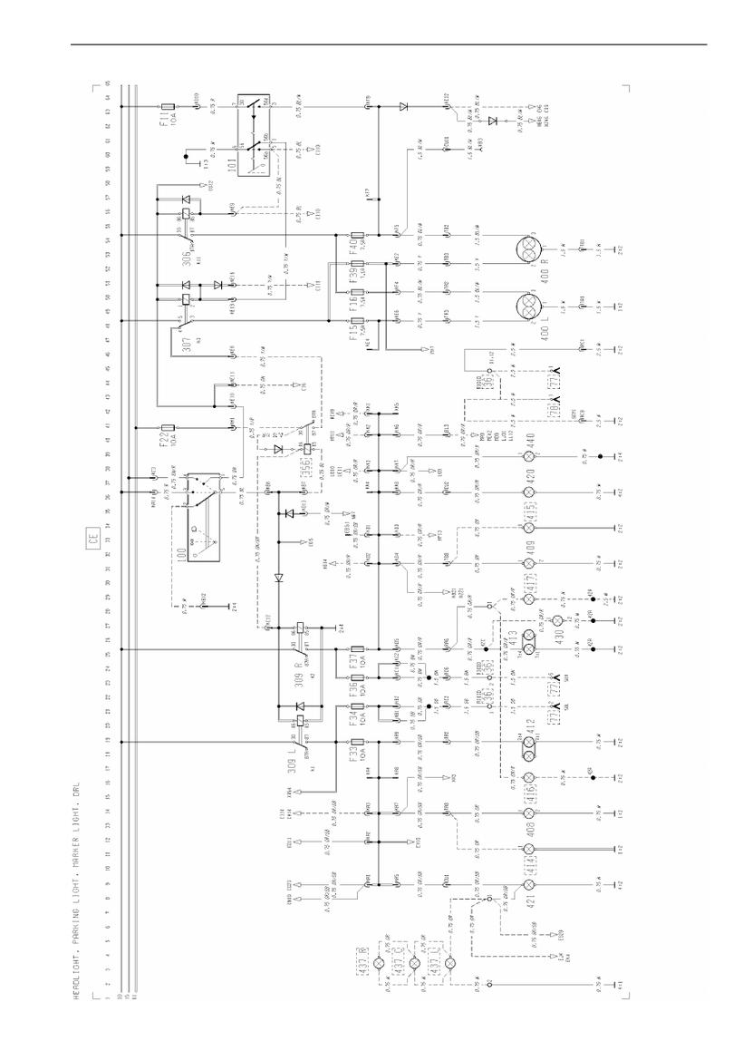 medium resolution of fh headlight parking light schematics