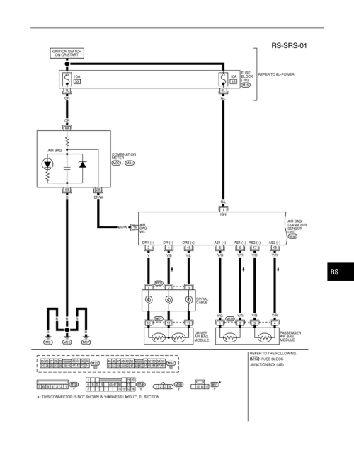 small resolution of i30 supplemental restraint system srs wiring diagram