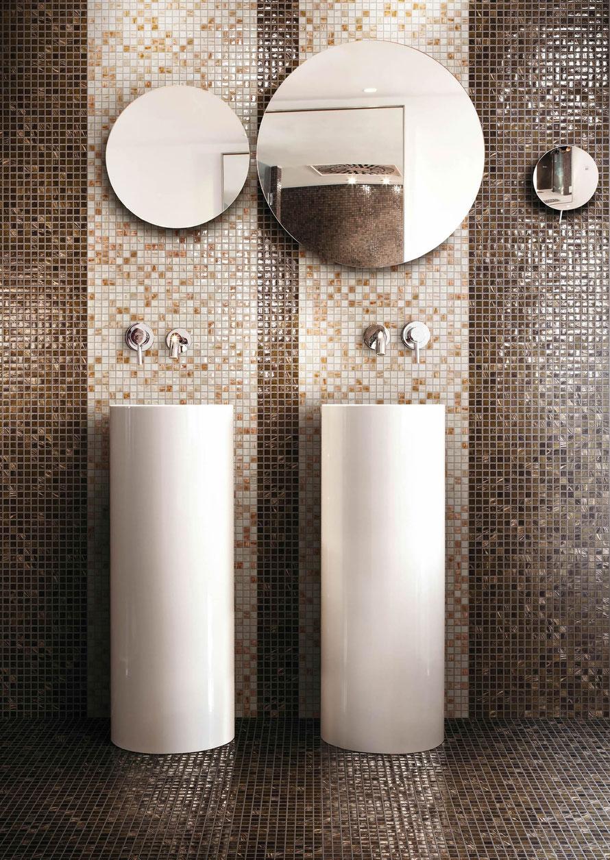 Mosaico  Casaeco pavimenti e rivestimenti in ceramicarubinetterie per bagnopiastrelle effetto