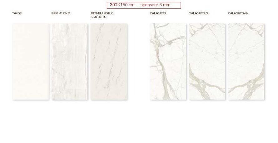 Gres porcellanato in lastra cm300x150 spessore mm6  Casaeco pavimenti e rivestimenti in