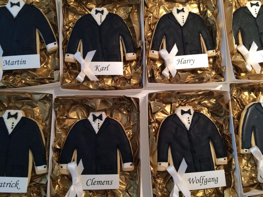 Schachtel fr selbstgemachte HochzeitsKekse  Der Schachtel Shop Mnchen