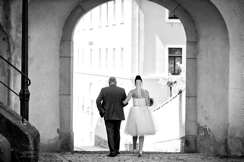 Hochzeit im Schloss Schwarzenberg im Erzgebirge  Als