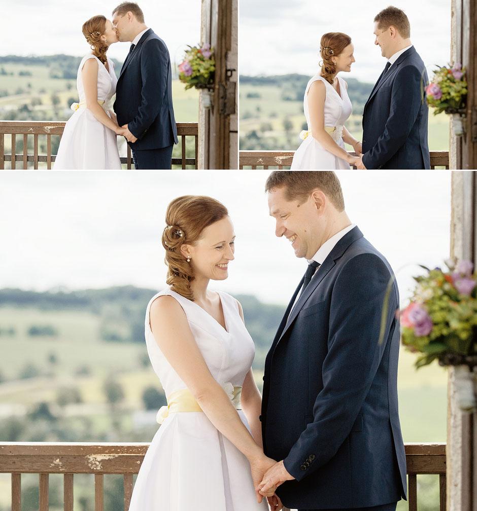 Hochzeit auf Burg Wolkenstein im Erzgebirge  Als