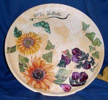 Visualizza altre idee su piatti decorativi, decorazioni, piatti. Piatto Targa Con Decoupage Pittorico Magutta Jimdopage