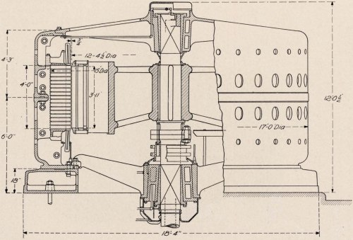 small resolution of cross section assembly of 10 000 h p 10 000 volt generator building for canadian niagara falls