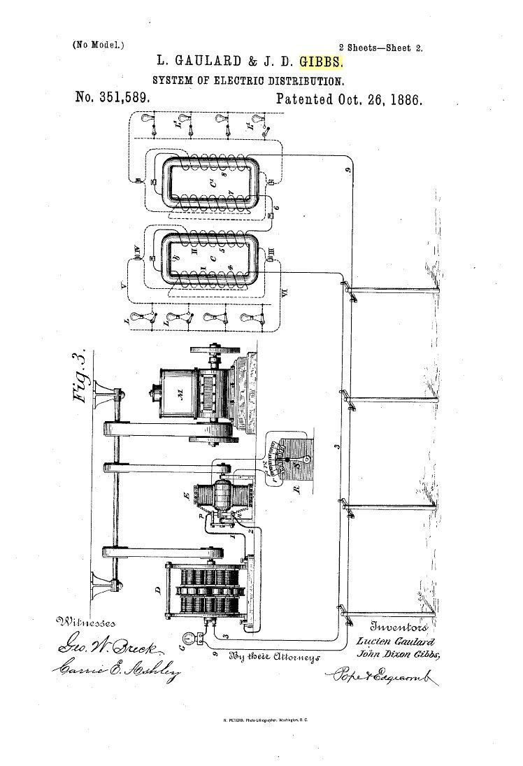 medium resolution of us351 589 system of electric distribution oct 26 1886 patent