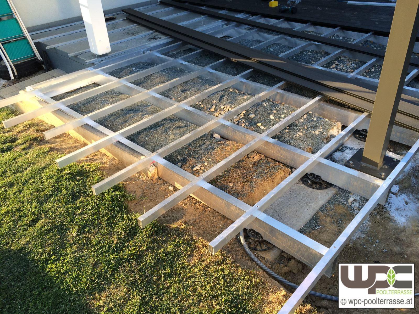 Bilder Wpc Aluminium / Alu- Unterkonstruktion Für Terrassendielen