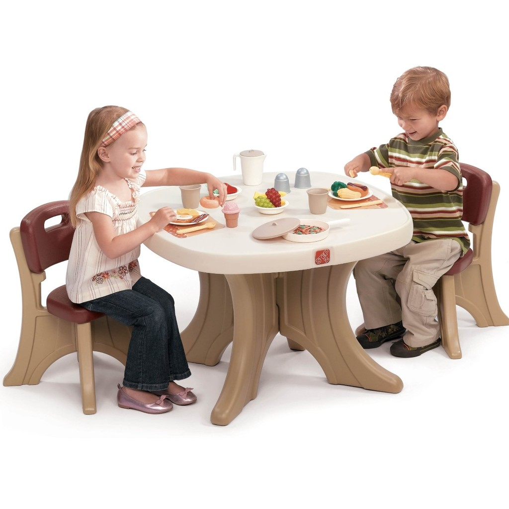 Step2 Table And Chairs Set Mesita Con Sillitas Step2 New Traditions Table And 2