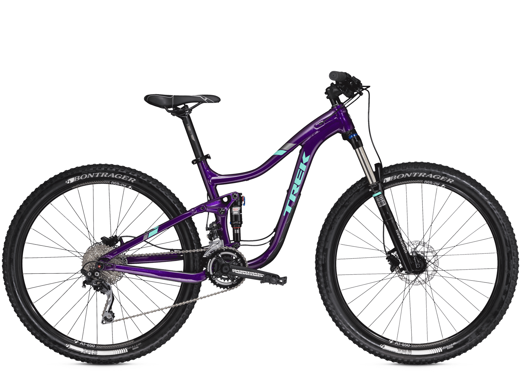Bicicleta Montana Trek Doble Suspension Lush 27 5 Mujer