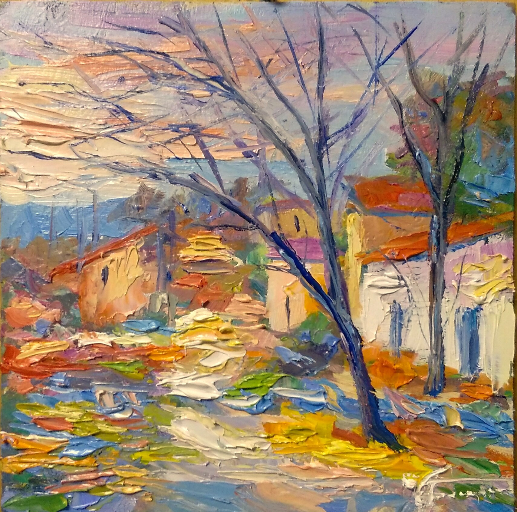 Pittore paesaggista italiano  Giuseppe Faraone