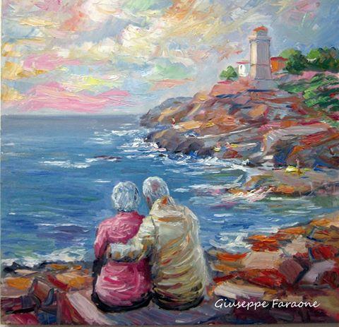 peintres impressionnistes contemporains  Giuseppe Faraone