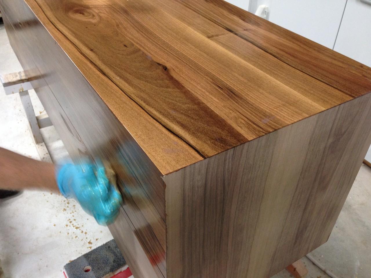 Holz Ölen - Schreinerei Winterthur - Raphael Meier Holzwerke