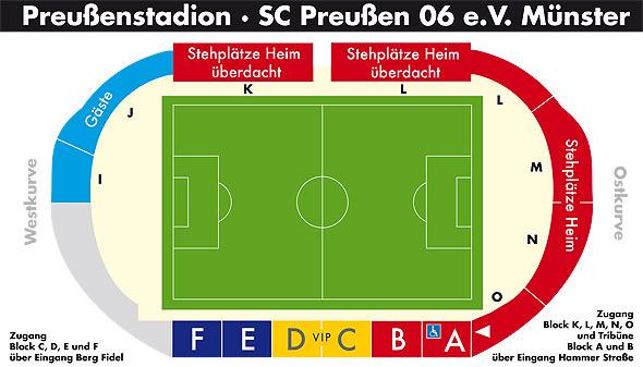 Aufnahmen der ausschreitungen im stadion. Preußenstadion Münster - FanSicht - Dein Blick aufs Spielfeld!