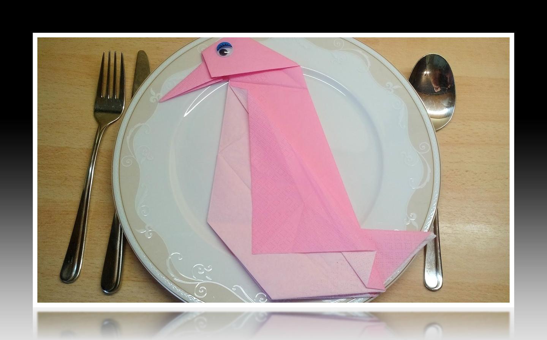 Servietten Falten Bestecktasche Dreieck Servietten Falten Einfach