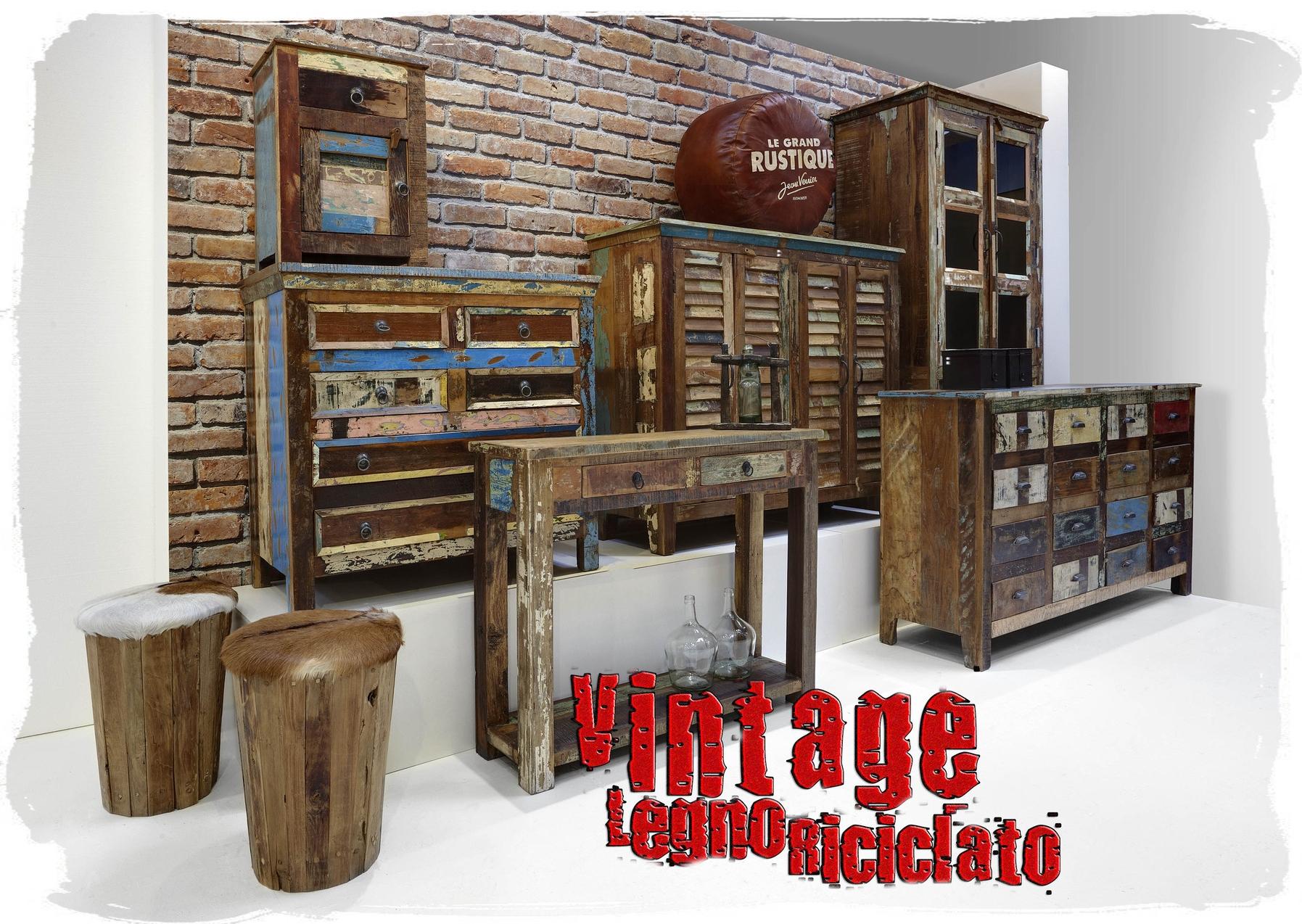 Vintage Legno Riciclato Benvenuti su Sandro Shop