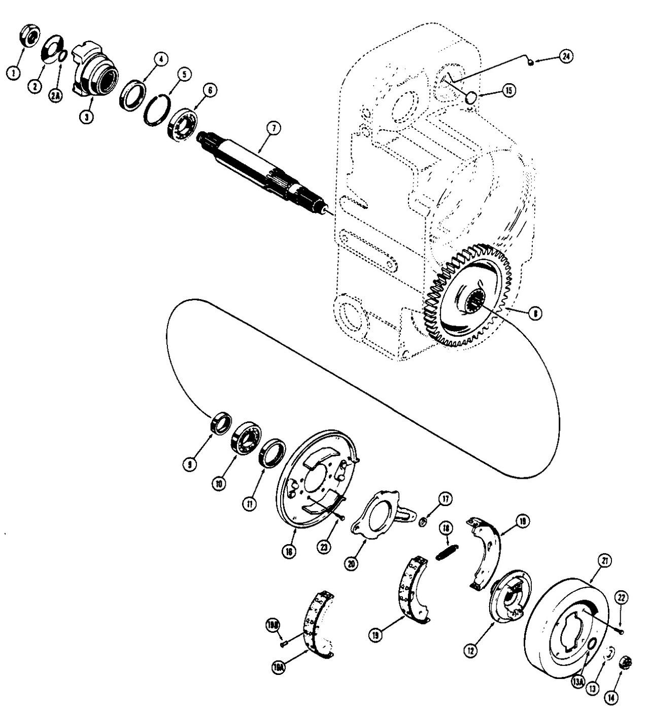 Case W20b Parts