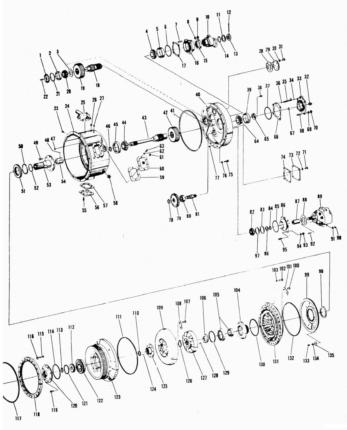 Torque Converter C Series Parts