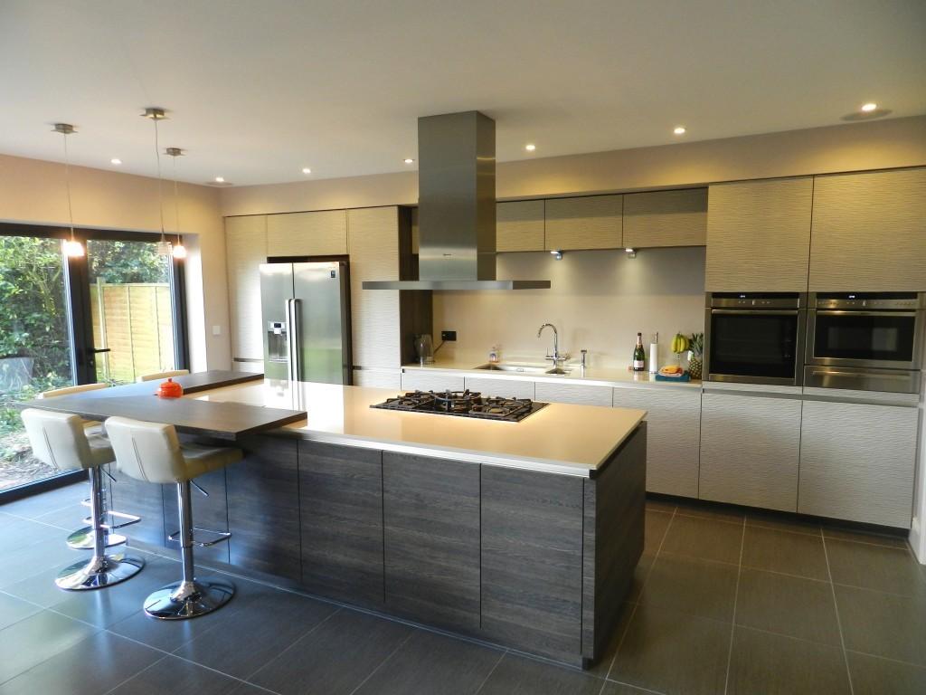 Küche Mit Side By Side Kühlschrank Integriert : Side by side kühlschrank in küche integrieren ferienwohnung