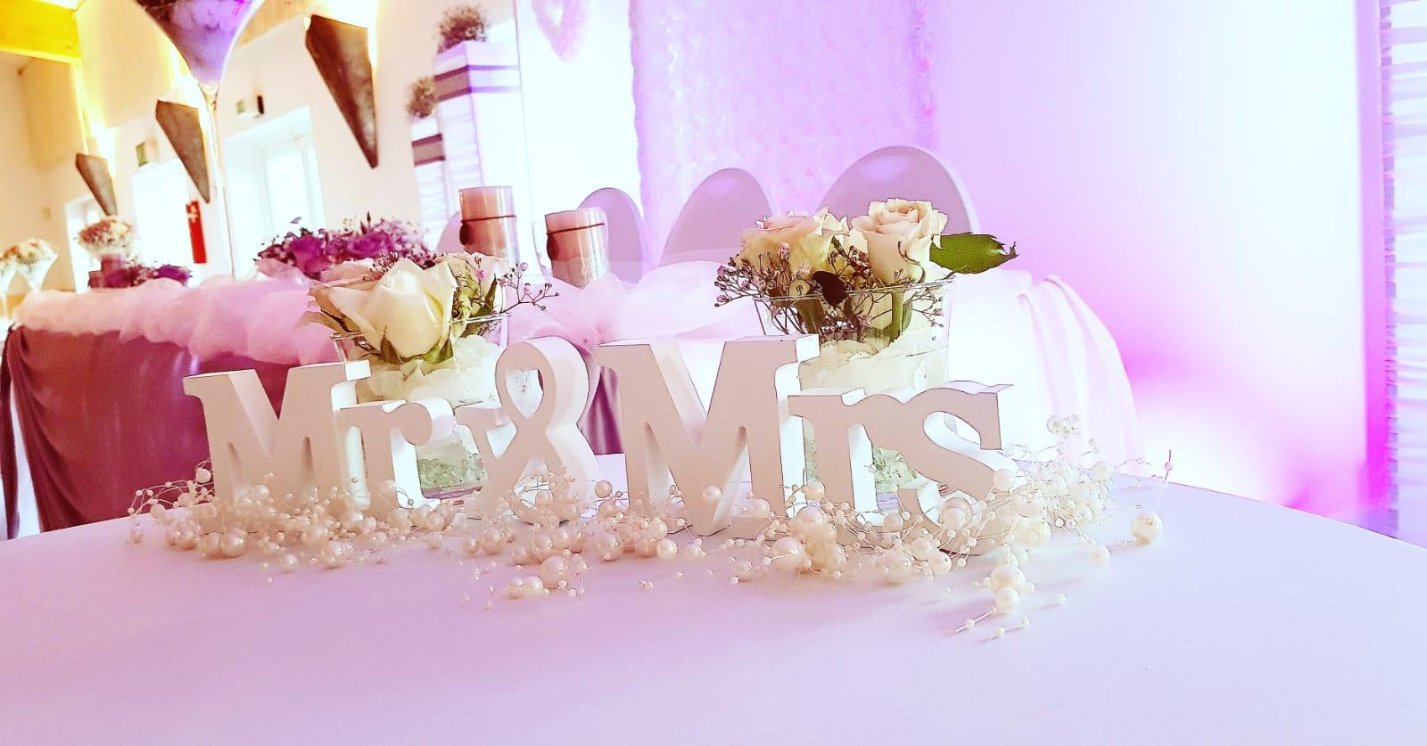Deko  Hochzeitsdekoration  Dekoration fr Ihre Hochzeit