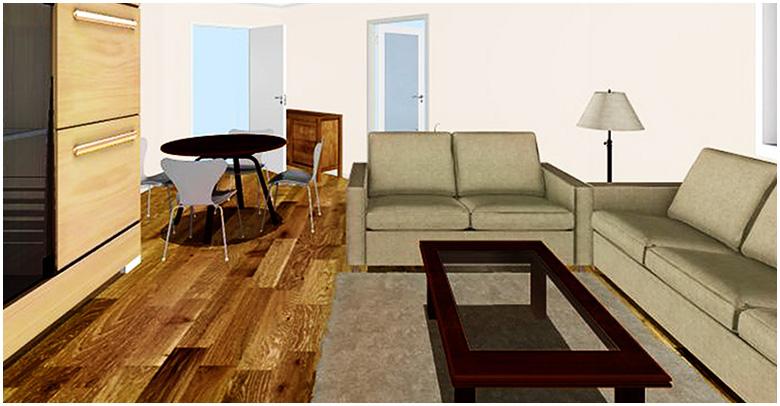 Gestaltung Wohnzimmer  Bschking Raumkonzept