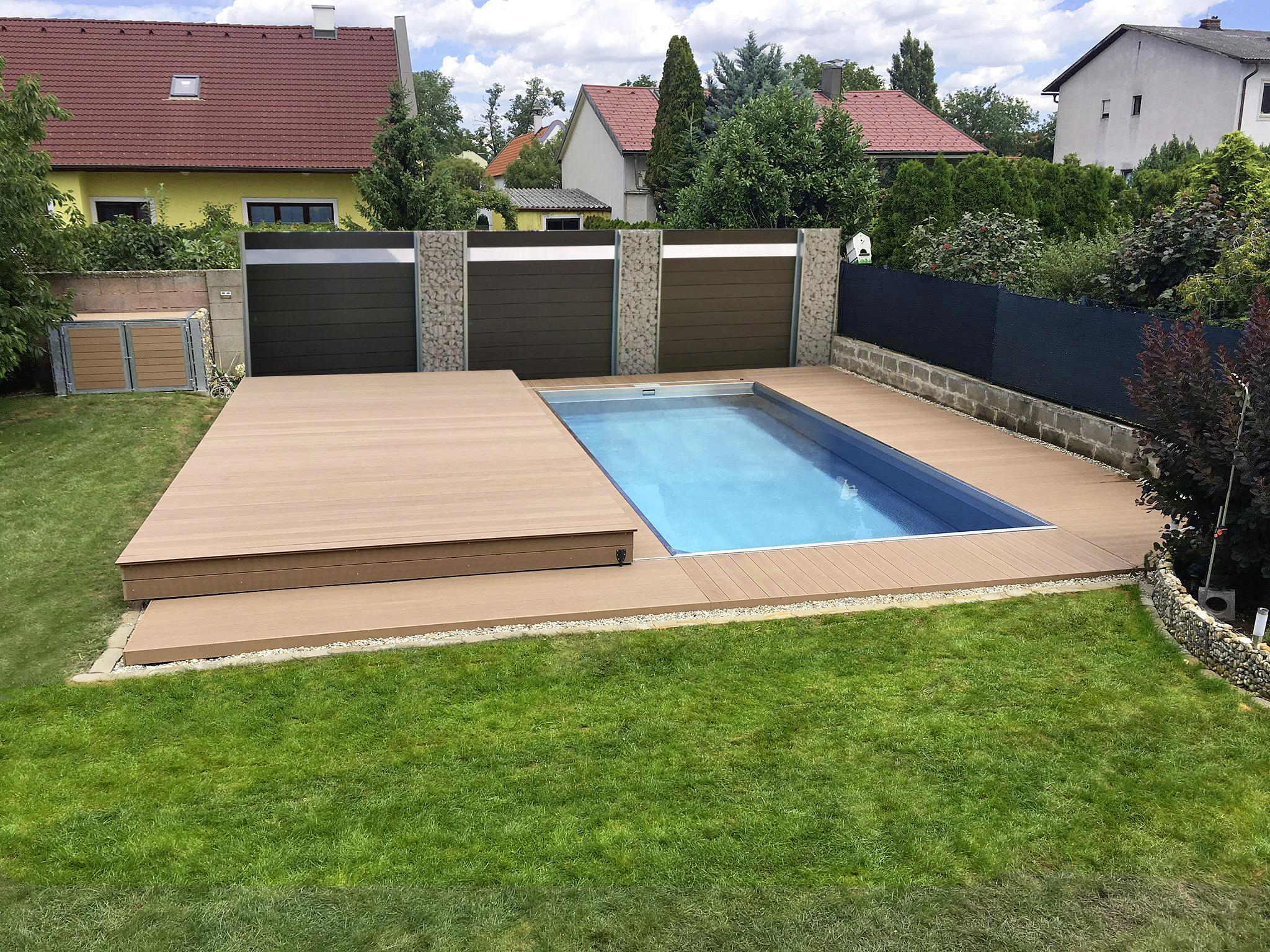 Pool Garten Kindersicher Poolabdeckung Killi Terrasse And Mehr